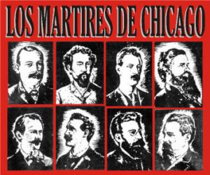 Resultado de imagen de fotos 1 de mayo los sucesos de chicago