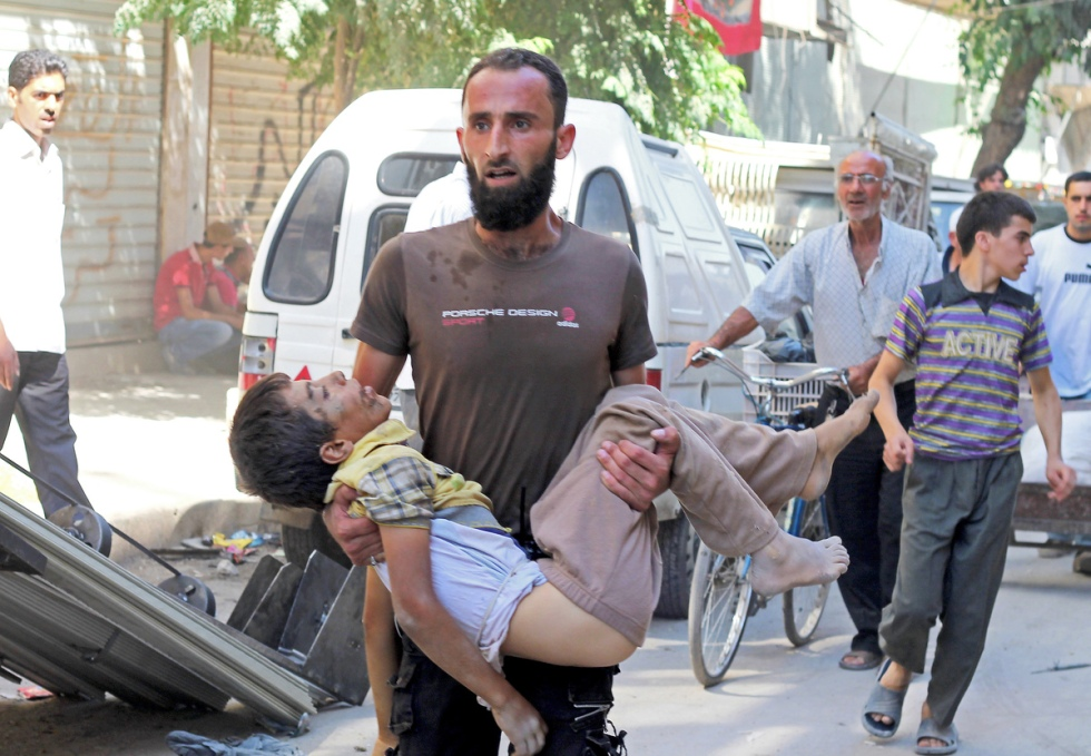 Siria en octubre (Advertencia: Las imágenes gráficas) 