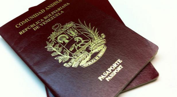 Pasaporte venezolano. (Archivo)