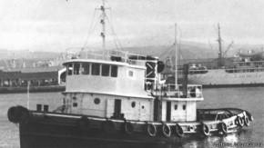 El remolcador 13 de marzo era una embarcación similar a esta.