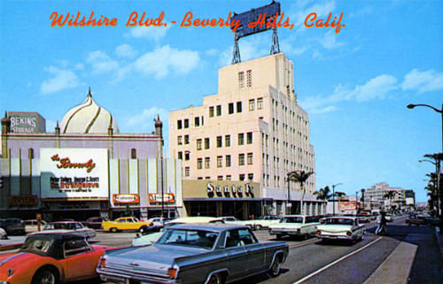 The Beverly Theatre- 206 North Beverly Dr Beverly Hills CA 1960s