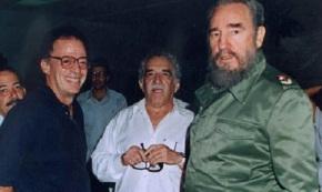 Enrique Santos Calderón, Gabriel García Márquez y Fidel Castro