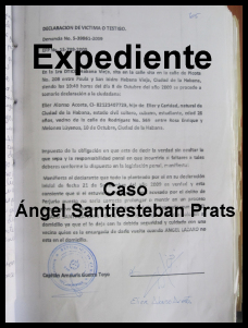 expediente Angel Santiesteban...