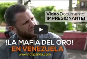 La mafia del Oro en Venezuela