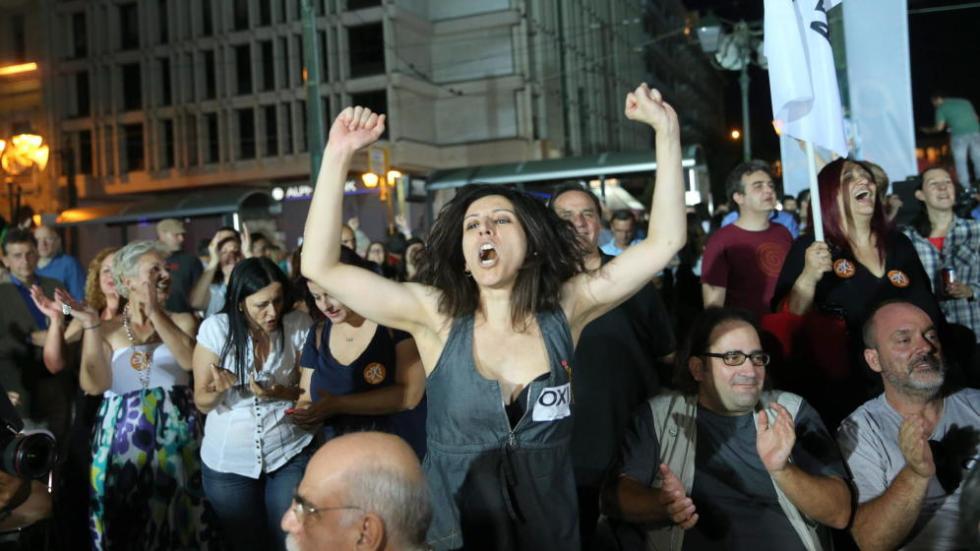 Reacciones tras el cierre de urnas del referéndum griego. Noticias de Mundo