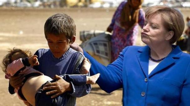 Twitter: Avalancha de críticas contra Merkel por su fría actitud con la niña a la que hizo llorar. Noticias de Mundo