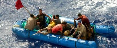 Miedo al fin de beneficios duplica número de balseros cubanos
