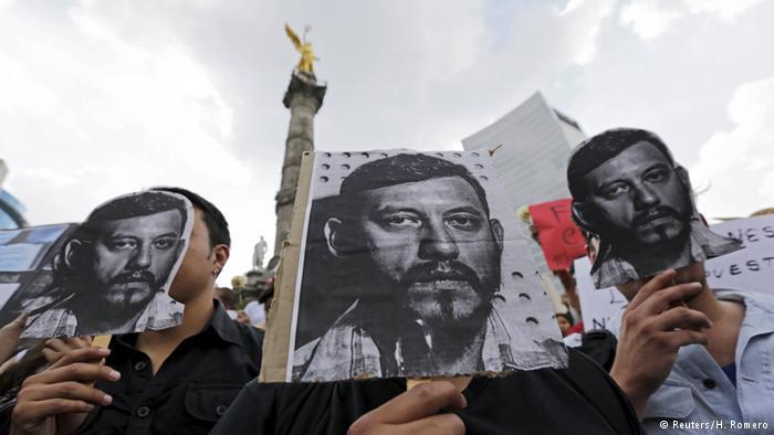 México: cuando la libertad de prensa no tiene valor | América Latina | DW.COM | 05.08.2015