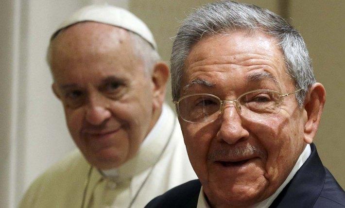 POPE-CUBA/CASTRO