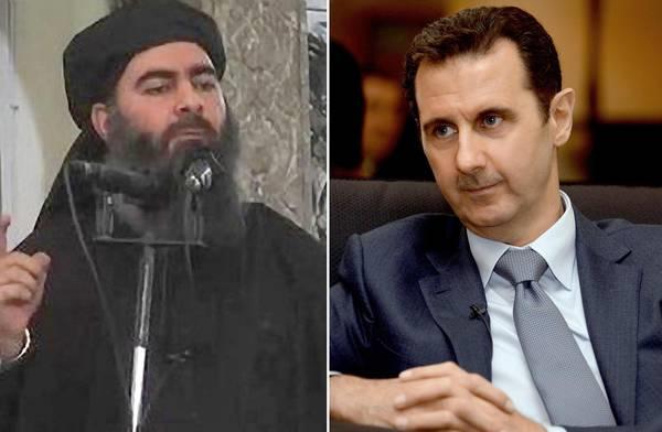Bashar al Assad frente a ISIS