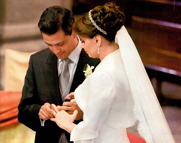 Consentimiento Matrimonial Catolico Formula : El expediente secreto de la boda peña nieto rivera