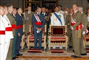 El Rey Juan Carlos y el JEMAD