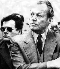 Willy Brandt y Günter Guillaume