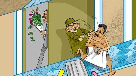 Caricatura EDO: El huesped incómodo   Foto: @edoilustrado