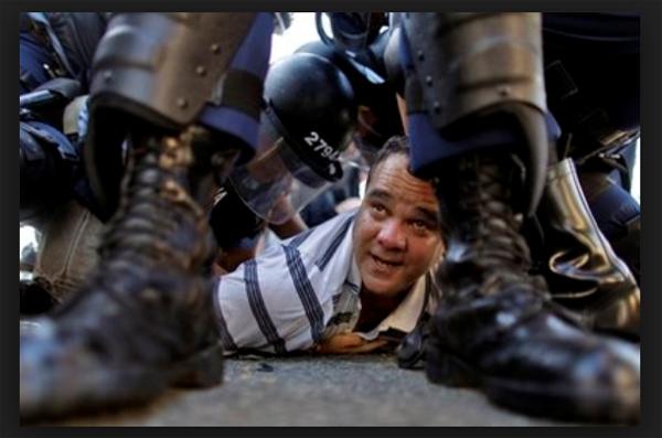 Cuba policía miedo y represión