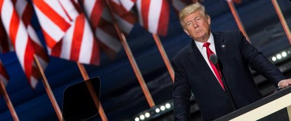 Donald Trump Accepts the Republican Presidential Nomination