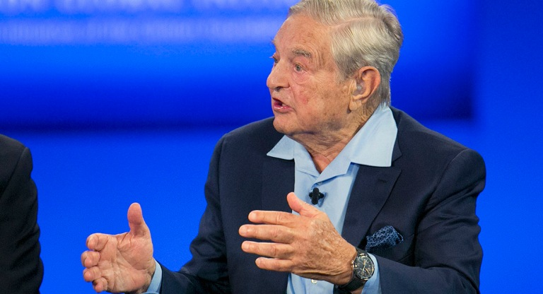 George Soros, Chairman of Soros Fund Management,