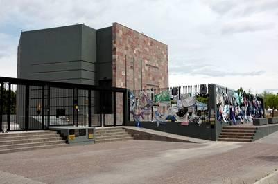 El Mausoleo que construyó Lázaro Báez ya es administrado por el gobierno de Alicia Kirchner. Foto Maxi Failla.
