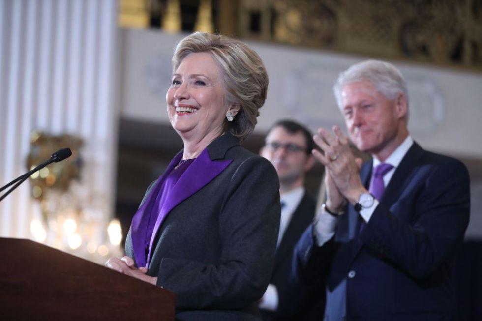 2016 Election Clinton, New York, USA - 09 Nov 2016