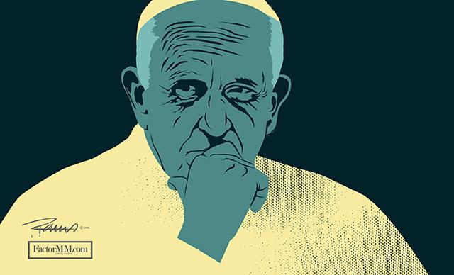 Claudio Nazoa: ¿Qué será de la vida del Papa?