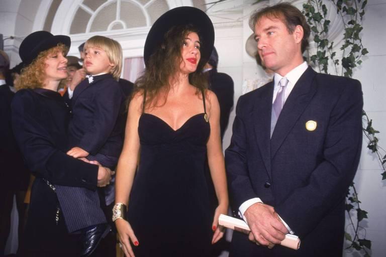 Isis de Oliviera, Thor, Luma e Eike Batista no Grande Prêmio Brasil de Turfe -  08 /0 8 /1995