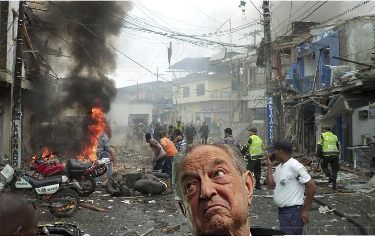 Treinta de terrorismo en Colombia patrocinado por Soros