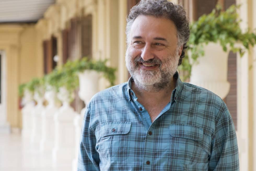 Alejandro Rozitchner en la Casa Rosada.