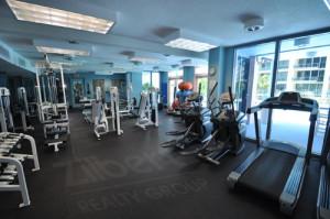 El gym.