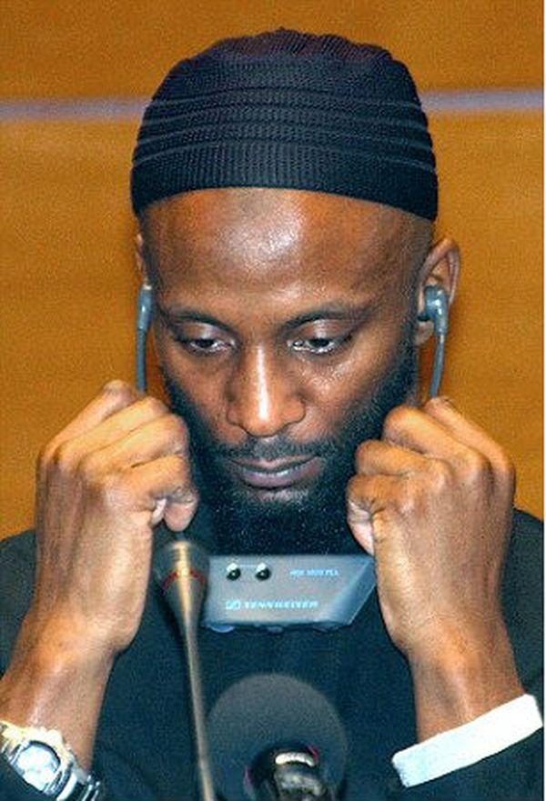 Jamal Al Harith durante una audición sobre violaciones de derechos humanos en Guantanamo