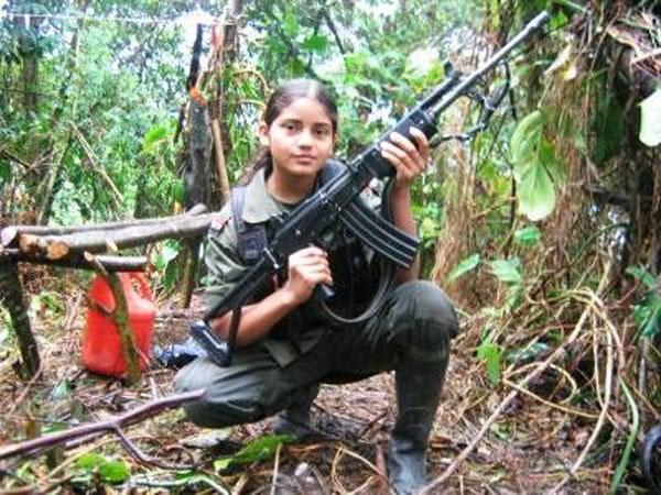 Niña guerrillera FARC 3