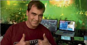 Pablo Yabrán, el hijo DJ. (Foto: revista Noticias).