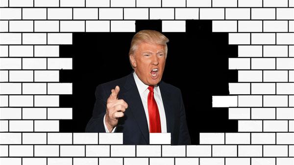 Trump y sus muros