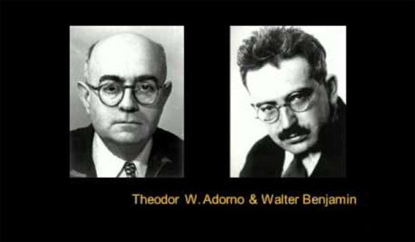 Walter Benjamin a Theodor Adorno