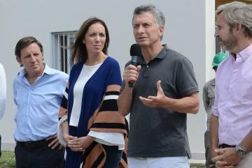 La gobernadora Vidal y el presidente Macri presentan un plan de créditos a la vivienda.