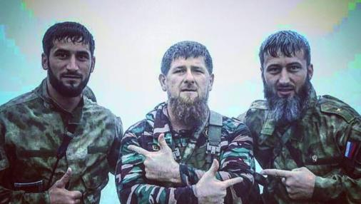 Kadirov aparece acompañado en una foto de su instagram