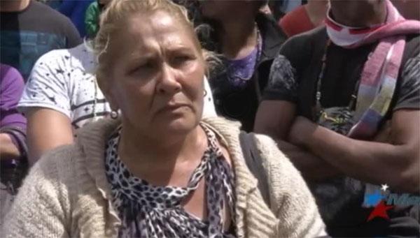 María Elena Gutiérrez presunta oficial de policía cubana