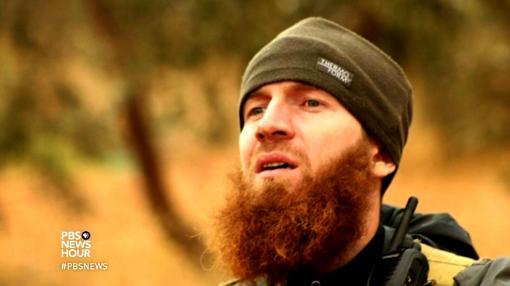 Uno de los cabecillas de Daesh, Omar Al Shishani (el checheno), en una imagen antes de su muerte. Kadirov había pedido su cabeza públicamente