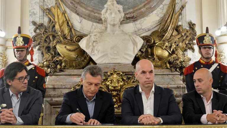 A pedido de Macri, impulsan un nuevo plan para limitar los piquetes en la Ciudad