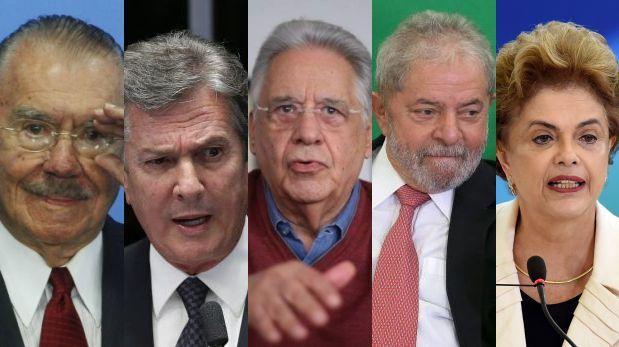 Resultado de imagen para Cinco expresidentes de Brasil involucrados en corrupción de Odebrecht