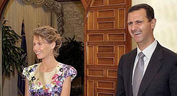 Bashar al Assad y Asma Assad