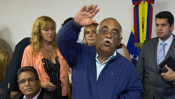 """Carlos Eduardo Martínez Mendoza, alias """"Remache"""", embajador venezolano en Argentina"""