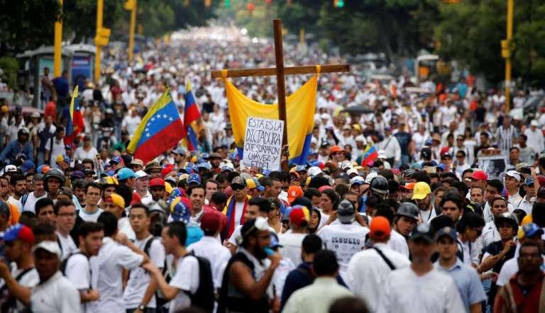 Marcha contra el chavismo