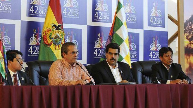 Nicaragua, Ecuador y Bolivia apoyan a Venezuela en la OEA/ GETTY IMAGES
