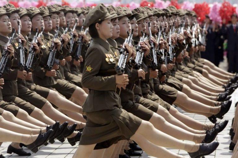 soldados norcorenas