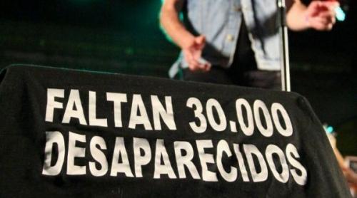 Por ley, los desaparecidos serán 30.000