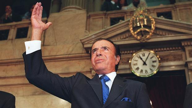 Carlos Menem impulsó la norma