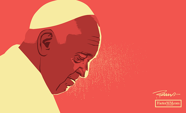 Sentida carta de un de un joven católico de 21 años a raíz de las imprecisas declaraciones del papa