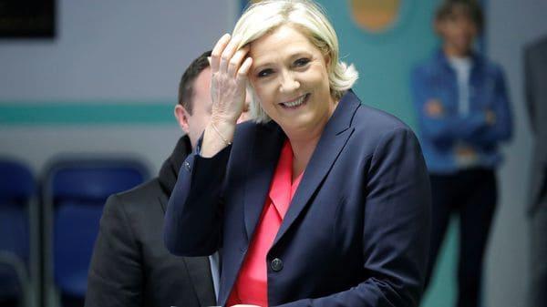 Marine Le Pen, derrotada pero también fortalecida (AFP)
