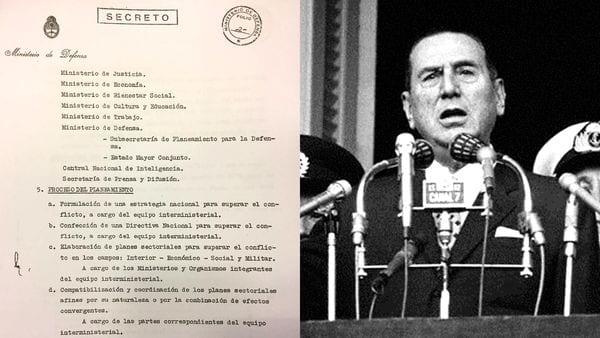 El decreto secreto por el cual Perón dispone un combate integral contra la subversión armada