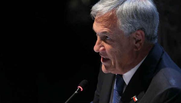 Sebastián Piñera acusa a Maduro de querer convertir a Venezuela en otra Cuba